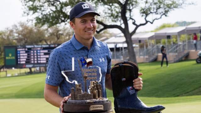 Jordan Spieth won the Texas Open for a much-needed boost ahead of The Masters. PA
